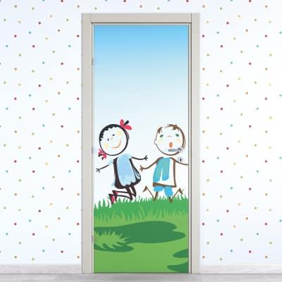 Porta da interno battente Junior 90 x H 210 cm dx
