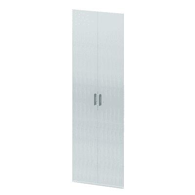 Set 2 ante Spaceo bianco L 30 - 30 x P 2 x H 160 cm