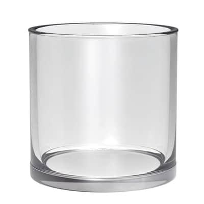 Vaso Vetro d.15 x h15 ø 15 cm trasparente