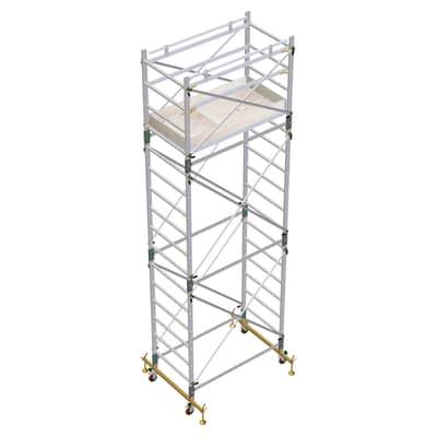 Trabattello Facal Alumito Maxi In Alluminio Per Lavori Fino A 6 3 M