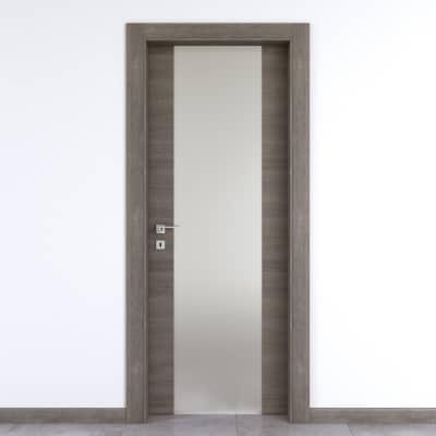 Porta da interno battente Starwood pietra 90 x H 210 cm dx