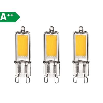 3 lampadine led lexman g9 32w luce naturale 360 prezzi e for Lampadine led online