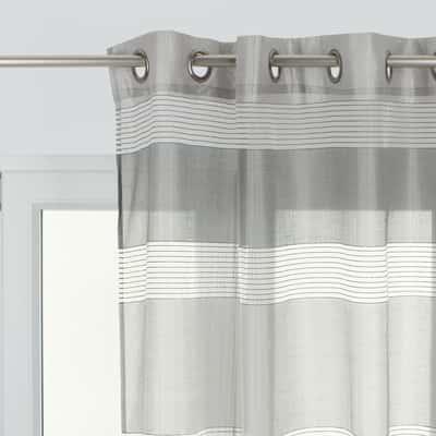 Tenda Stripe grigio 140 x 280 cm