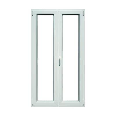 Portafinestra pvc bianco l 120 x h 220 cm prezzi e offerte for Offerta finestre pvc