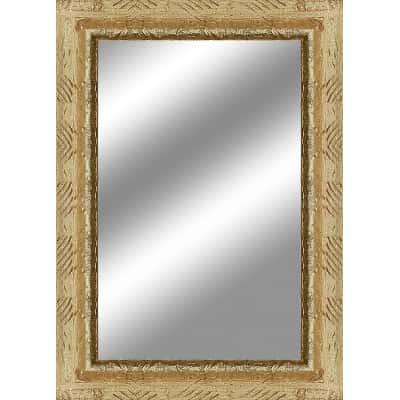 Specchio da parete rettangolare medea oro 100 x 140 cm - Specchio rettangolare da parete ...
