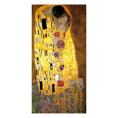 quadro su tela Bacio di Klimt 60x120