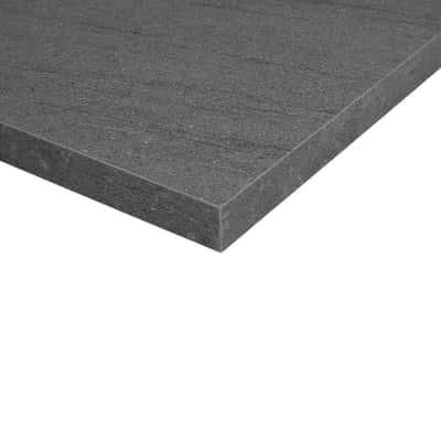 Piano cucina su misura laminato Pietra Lavica grigio 6 cm