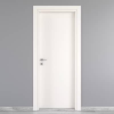 Porta da interno battente Moma bianco 70 x H 210 cm dx