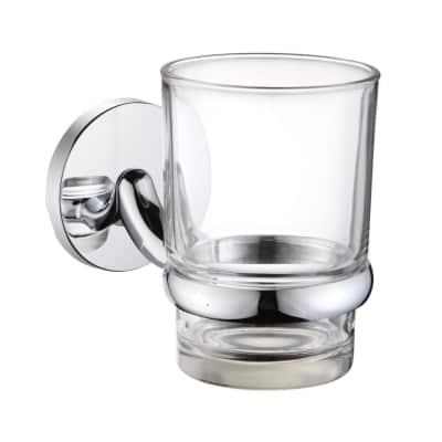 Porta bicchiere Suite cromo lucido