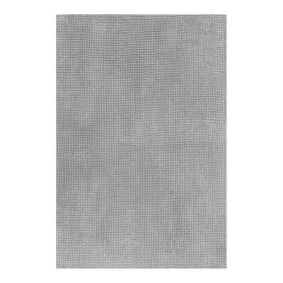 Tappeto bagno Fluffy grigio