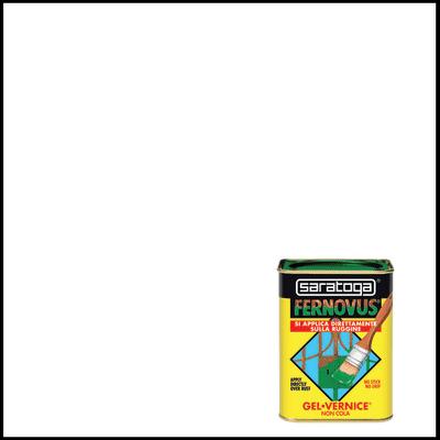 Smalto per ferro antiruggine Saratoga Fernovus bianco brillante 0,75 L