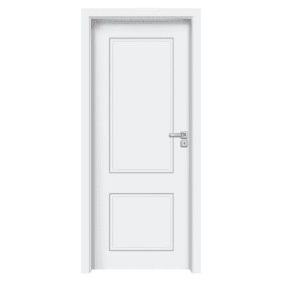 Porta da interno battente Samui bianco 80 x H 210 cm sx