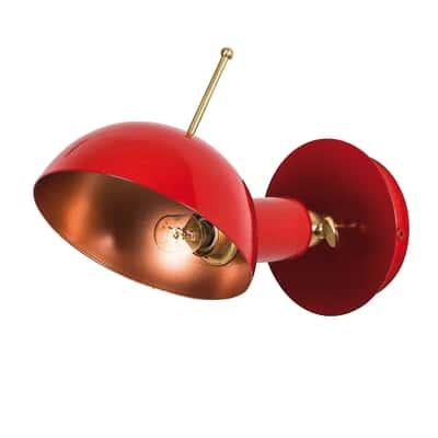 Applique App-boule rosso Ø 15 cm