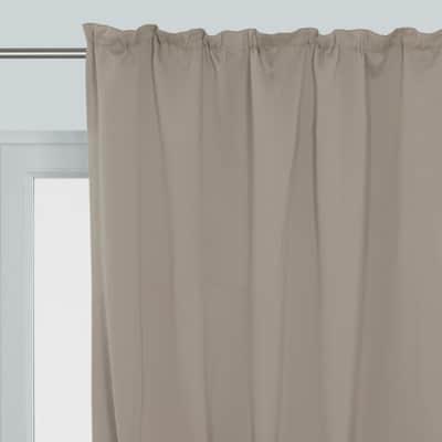 Tenda Oscurante grande altezza fettuccia marrone 140 x 350 cm