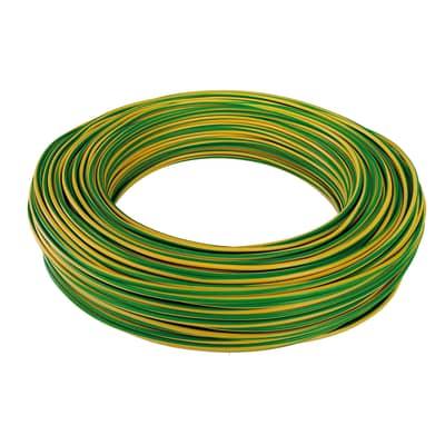 Cavo CPR unipolare FS17 450/750V Baldassari Cavi 2,5 mm giallo/verde, matassa 100 m
