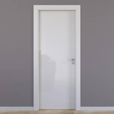 Porta da interno battente Massaua silk 70 x H 210 cm sx