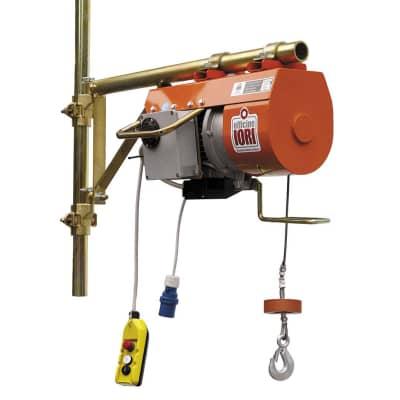 Paranco elettrico officine iori dm 200 i velox 200 kg for Paranco elettrico con supporto a bandiera