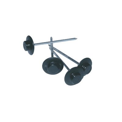 Chiodi Onduline nero ø 3 x 60 mm, confezione da 50 pezzi