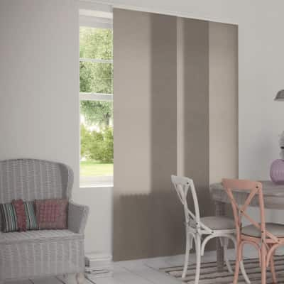 Tenda a pannello resinato Effetto Lino sabbia 60 x 300 cm