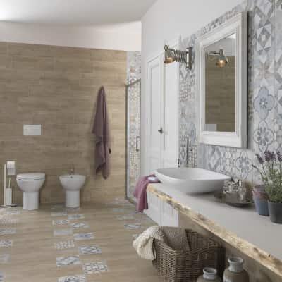 Piastrella oural 20 x 60 4 cm beige prezzi e offerte - Bagno ecologico prezzi ...