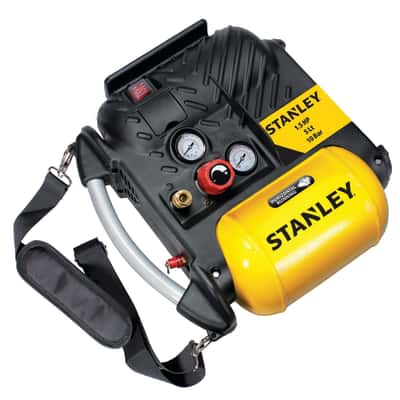 Compressore coassiale Stanley 10 bar Airboss OL195, 1.5 hp, pressione massima 10 bar