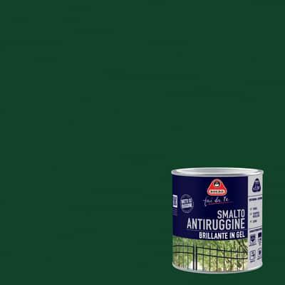 Smalto per ferro antiruggine Boero verde impero brillante 0,5 L