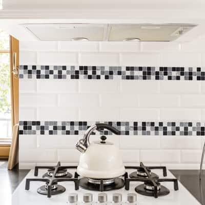 Mosaic Tile Black&White