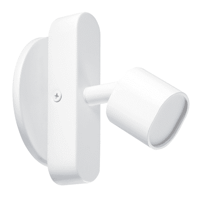 Faretto completo Flut bianco, in ferro, LED integrato 5W 220LM IP20 INSPIRE