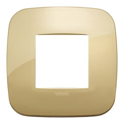 Placca VIMAR Arké 2 moduli oro