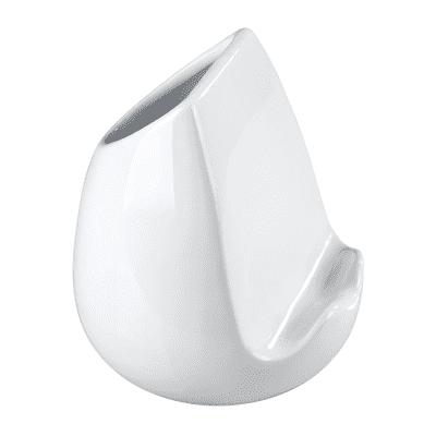 Porta utensile bianco 15 x 14.5 x 15 cm