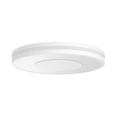 Plafoniera Being Hue bianco, in vetro, diam. 34, LED integrato 32W 2400LM IP20 PHILIPS HUE