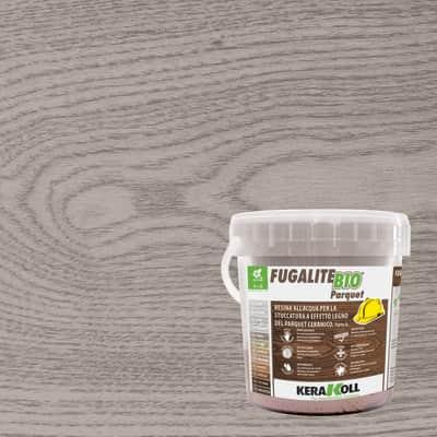 Stucco in pasta Fugalite Bio parquet KERAKOLL 3 kg tortora