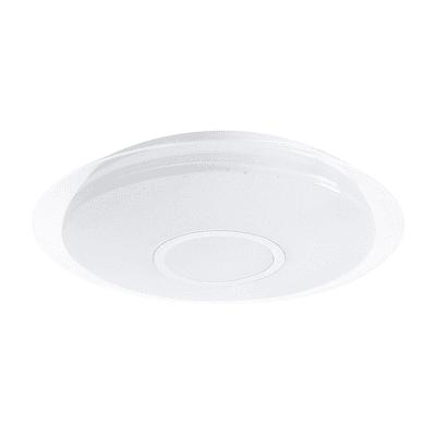 Plafoniera Vizzini bianco, in plastica, diam. 40.0 , IP44 INSPIRE