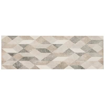 Piastrella per rivestimenti Atelier Origami 25 x 76 cm sp. 10 mm beige