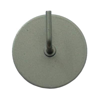 Supporto adesivo in acciaio acciaio , 2 pezzi