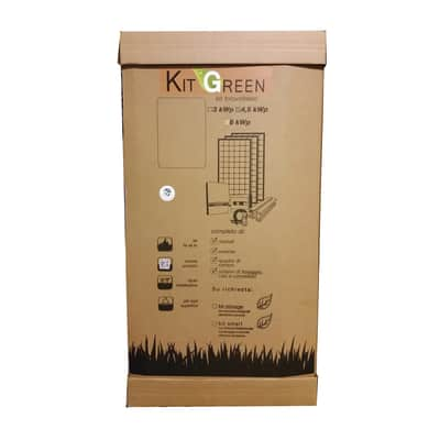 Kit solare fotovoltaico GREEN TOP 6KWP 6000 W