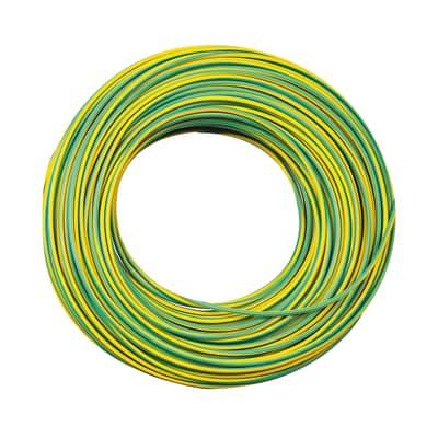 Cavo elettrico LEXMAN 1 filo x 1,5 mm² Matassa 15 m giallo/verde