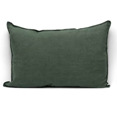Cuscino Lina verde 60x40 cm