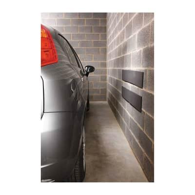 Protezione per garage in poliuretano L 100 x H 15 cm grigio