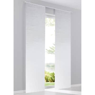 Pannello giapponese INSPIRE Anastasia bianco 60x300 cm