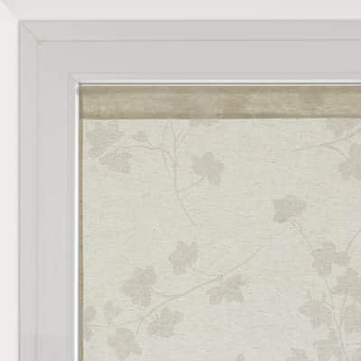 Tendina vetro Lilly ecrù tunnel 45 x 230 cm