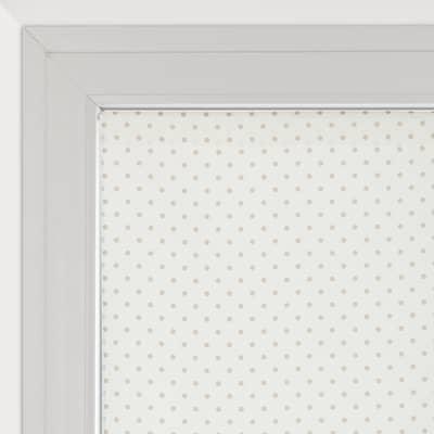 Tendina vetro Pois panna tunnel 90x240 cm