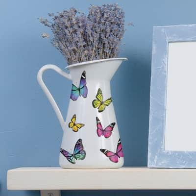 Sticker Color butterflies 15.5x34 cm