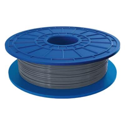 Bobina di filamento pla per stampante 3D D50 argento 162 m