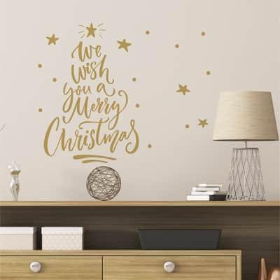 Sticker Albero di Natale 22x67 cm