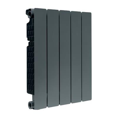 Radiatore acqua calda FONDITAL Modern in alluminio 5 elementi interasse 50 cm