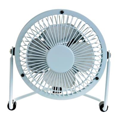 Ventilatore EQUATION TX-401D bianco 4 W Ø 10 cm