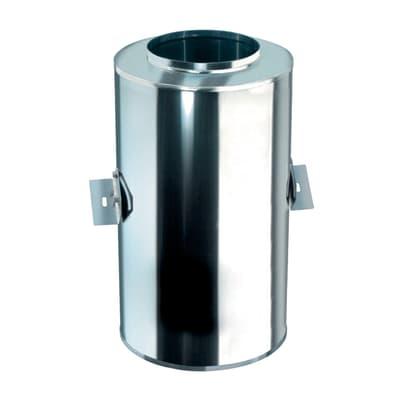 Raccordo per canna fumaria in inox 316l (elevata resistenza in condizioni climatiche estreme) Ø 80 mm