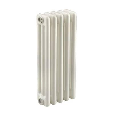 Radiatore acqua calda Tubolare in acciaio 5 elementi interasse 62.3 cm