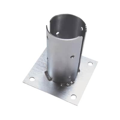 Supporto per palo   in acciaio L 12.5x H 13
